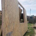 casa in legno costruzione